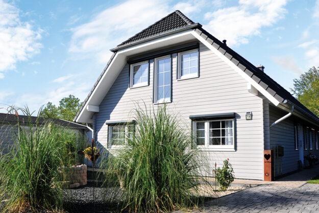Fjorborg Holzhaeuser - Haustyp Tromsoe -zweigeschossiges Holzhaus - BV6803