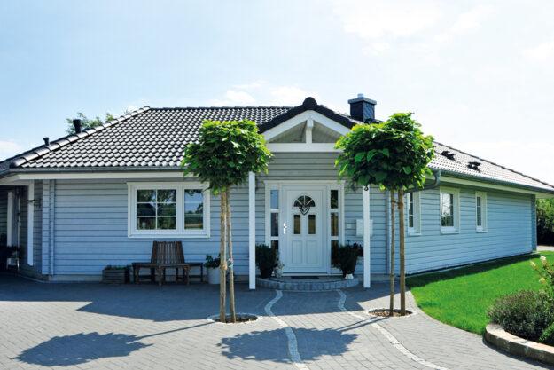 Fjorborg_Holzhäuser_ebenerdiges_Haus_Haustyp_Aarhus_BV6653_Eingang