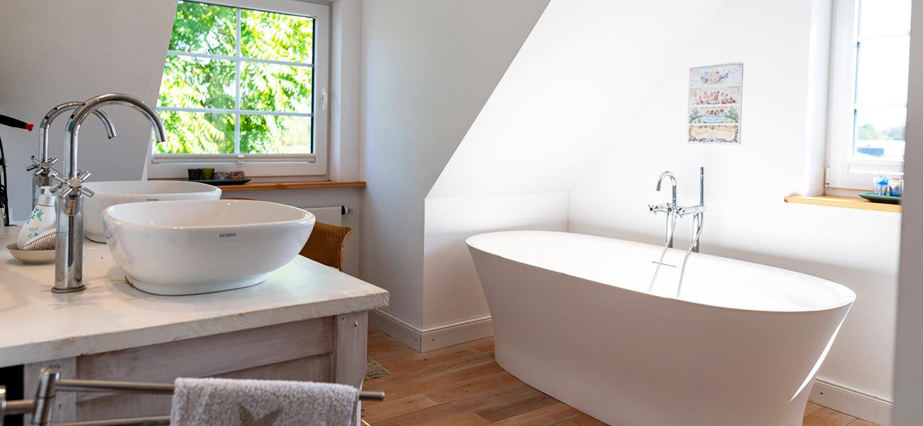 Fjorborg Haeuser - Wohntraum Wohnen und Arbeiten unter einem Dach - 1,5 geschossiges Holzhaus - Bad - BV6638 - Galerie