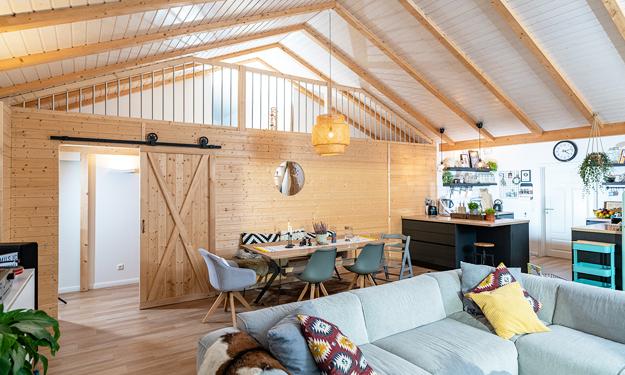 Fjorborg-Holzhaeuser - Schwedenhaus kaufen - gesundes Raumklima