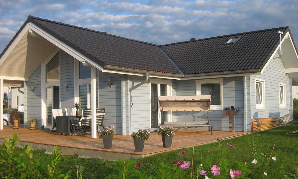 Fjorborg Holzhaus - Haustyp Anholt - ebenerdig - BV 7422
